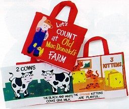 Let's Count At Old Macdonald's Farm Cloth Activity Book