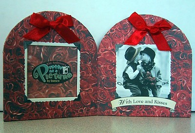 Kim Anderson With Love And Kisses Folding Photo Frame