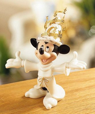 Lenox Classics Disney Mickey's Magic Moment Mickey Mouse Figurine