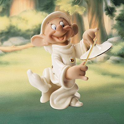 Lenox Classics Disney A Serenade For Snow White Dopey Figurine