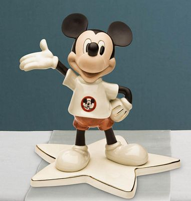 Lenox Classics Disney My Very Own Mouseketeer Mickey Mouse Figurine