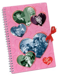 I Love Lucy Tin Notebook