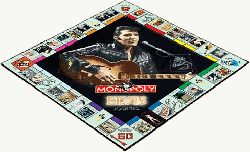 Elvis Presley 25th Anniversary Collectible Version Of Monopoly