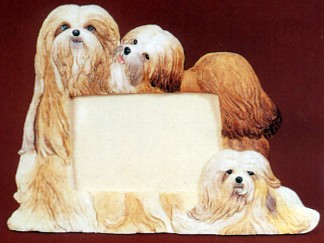 Lhasa Apso 4 X 6 Three Dimensional Photo Frame