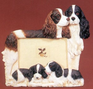 Springer Spaniel 4 X 6 Three Dimensional Photo Frame