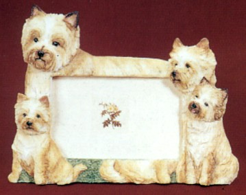 Cairn Terrier 4 X 6 Three Dimensional Photo Frame