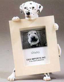 Dalmatian 2-1/2 X 3-1/2 Three Dimensional Photo Frame