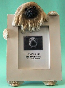 Pekingese 2-1/2 X 3-1/2 Three Dimensional Photo Frame