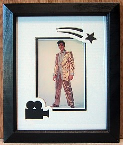 Gold Lame - Elvis Presley Framed Print