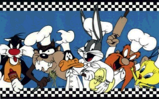 Looney Tunes Chefs Wall Border