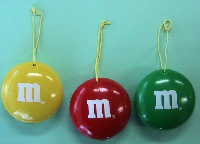 M&M's Holiday Ornaments