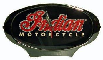 Indian Motorcycle Desk Alarm Clock