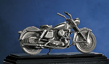 1957 Harley-Davidson Sportster Pewter Figurine By The Franklin Mint