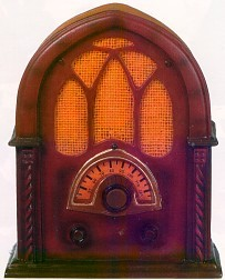 1931 Replica Radio Mini Musical Collectible