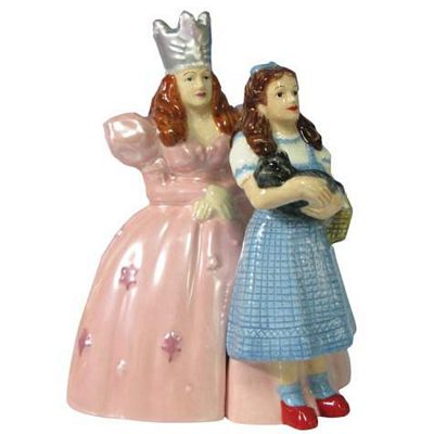 The Wizard Of Oz Dorothy And Glinda Salt And Pepper Shakers