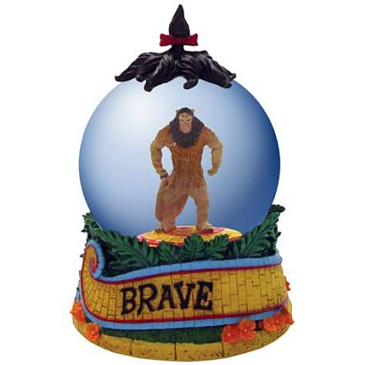 The Wizard Of Oz Cowardly Lion Waterglobe