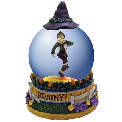 The Wizard Of Oz Scarecrow Waterglobe