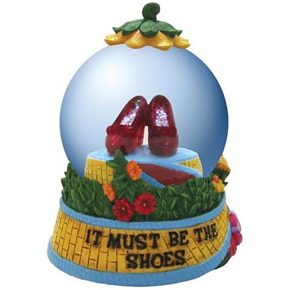 The Wizard Of Oz Ruby Slippers Waterglobe