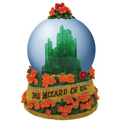 The Wizard Of Oz Emerald City Waterglobe