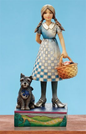 Dorothy And Toto Wizard Of Oz Figurine By Jim Shore