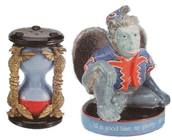 The Wizard Of Oz Flying Monkey Salt And Pepper Shakers
