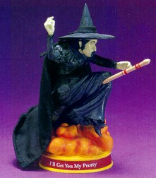 The Wizard Of Oz Wicked Witch Of The West Bobble Head Figurine