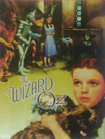 The Wizard Of Oz Dorothy And Gang Metal Sign
