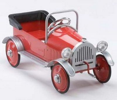Retro Hot Rodder Roadster Pedal Car By Airflow Collectibles