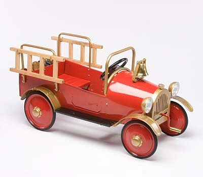 Retro Fire Engine Roadster Pedal Car By Airflow Collectibles