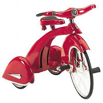 Retro Red Sky King Tricycle By Airflow Collectibles