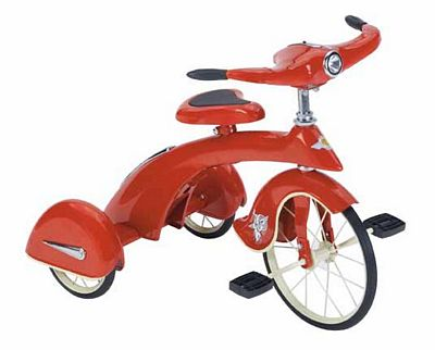 Retro Junior Red Sky King Tricycle By Airflow Collectibles
