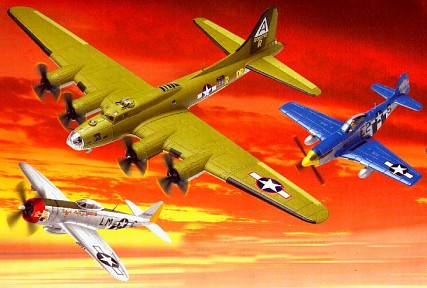 Eighth Army Air Force Set - Limited Edition Three Plane Set By Corgi