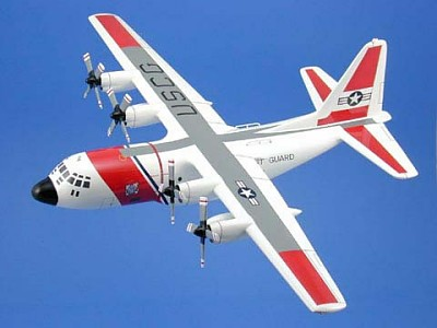 C-130H Hercules USCG Scale Model Aircraft