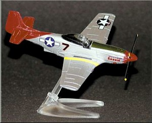 P-51D Bomber Escort Die-Cast Small Scale Model Aircraft