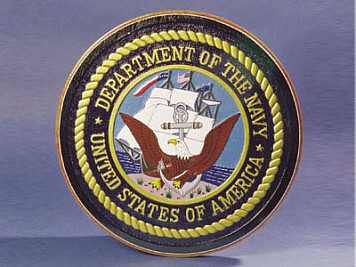 Navy Seal Wall Plaque