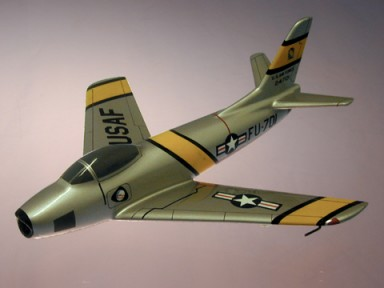 F-86 Sabre USAF Small Scale Model Aircraft