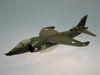British Harrier Scale Model Aircraft