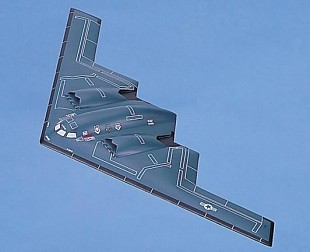 B-2 Stealth Bomber Scale Model Aircraft