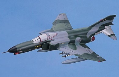 F-4E Phantom II Scale Model Aircraft
