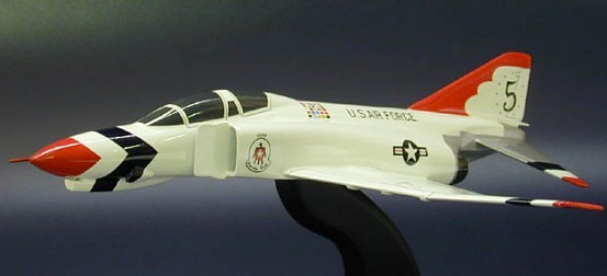 F-4E Phantom II Air Force Thunderbirds Scale Model Aircraft