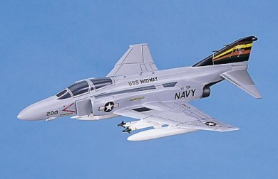 F-4S Phantom II Navy Scale Model Aircraft