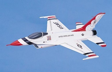 F-16A Thunderbird USAF Scale Model Aircraft