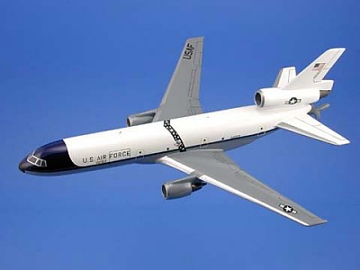 KC-10A Extender USAF Scale Model Aircraft