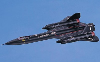 SR-71 Blackbird Small Scale Model Aircraft
