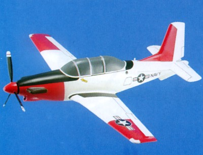 T-34C Mentor Navy Scale Model Aircraft