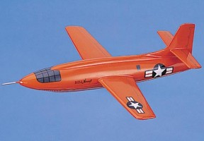 Bell X-1 Glamorous Glennis USAF Scale Model Aircraft