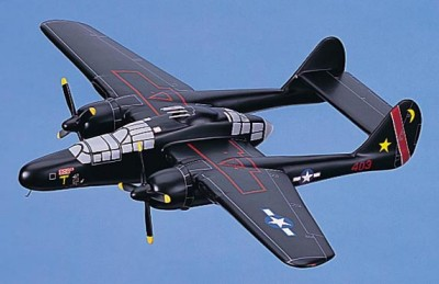 P-61 Black Widow Scale Model Aircraft