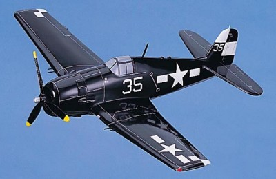 F6F Hellcat Small Scale Model Aircraft