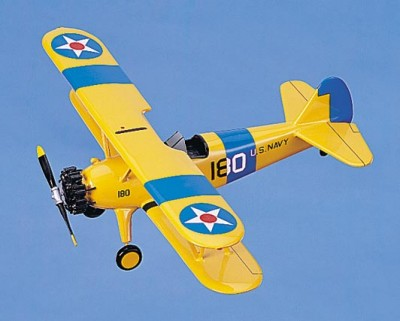 PT-17 Stearman Scale Model Aircraft