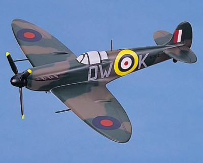 MK-1 RAF Spitfire Small Scale Model Aircraft